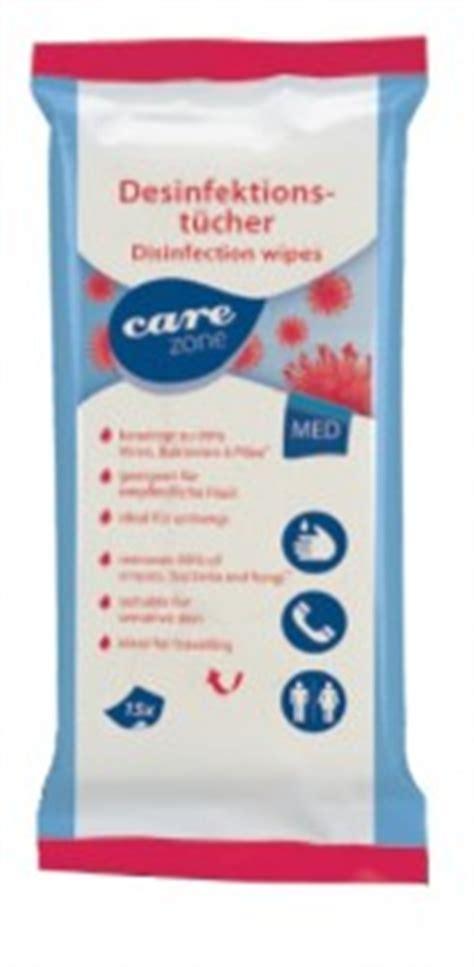 Care Zone care zone desinfektionst 252 cher gebrauchsfertig und