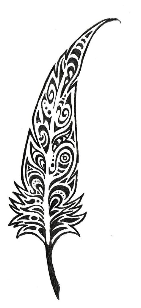 tribal feathers tattoo feather by unearthlydreams on deviantart tattoos