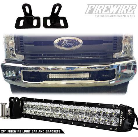 2017 super duty clearance lights 2017 ford super duty bumper light bar kit firewire leds
