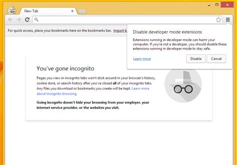 chrome incognito how to run google chrome in incognito mode from the