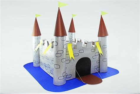 How To Make A Paper Castle By Steps - build a castle out of cardboard boxes cardboard boxes