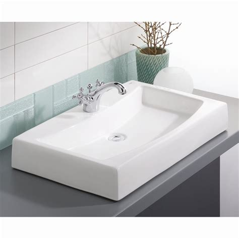 self rimming bathroom sink cheviot 1620 wh mediterranean overcounter self rimming