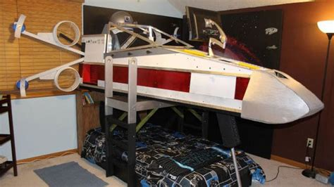 Coolest Beds by X Wing Bed Gives Boy The Coolest Childhood On Record