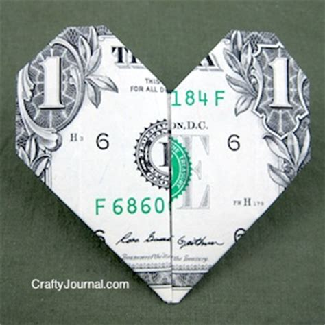 Easy Origami Dollar Bill - easy dollar bill
