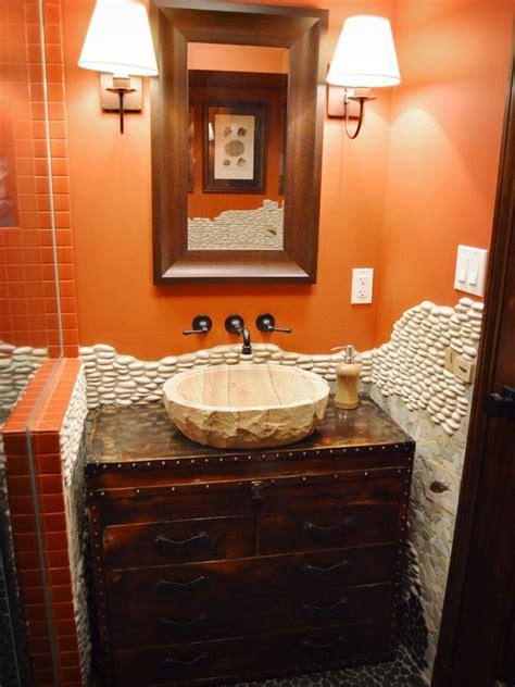 orange and black bathroom black and orange bathrooms images