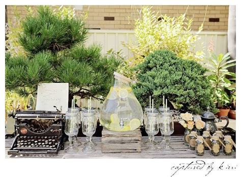 rustic bridal shower diy kara s ideas rustic outdoor bridal shower kara s