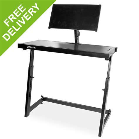 mobile dj deck stand turntable controller mixer laptop