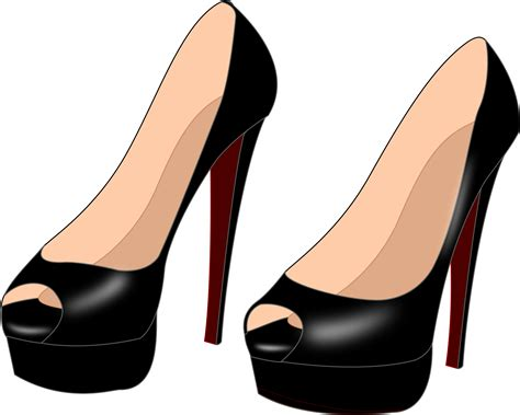High Heels At 01 by Clipart High Heels 01