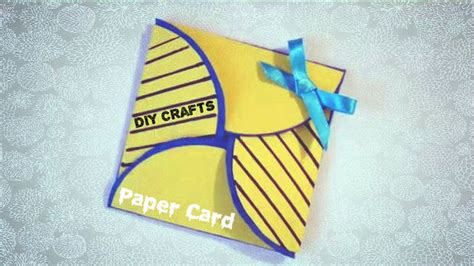 How To Make Paper Cards - diy crafts simple paper card