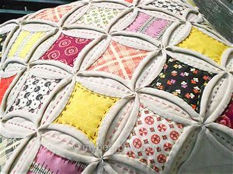 How To Make Cathedral Window Patchwork - cathedral window patchwork class the list