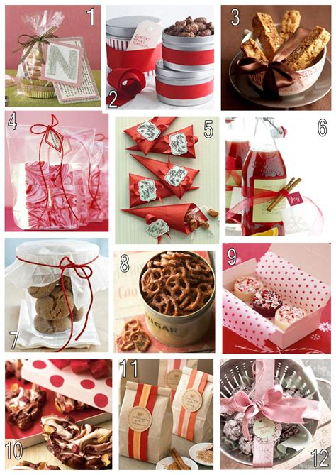 Handmade Food Gifts - food gifts for