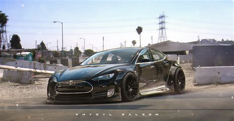 Tesla Racing Car Electric Gt Racing Series To Feature Only Tesla Model S