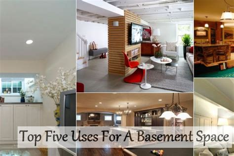 Bathroom Ceilings Ideas Top Five Uses For A Basement Space