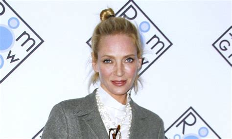 Cbell Takes Uma Thurmans Seconds by Uma Thurman Breaks A Number Of Bones After Falling
