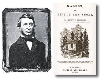 walden book text squashed philosophers thoreau walden