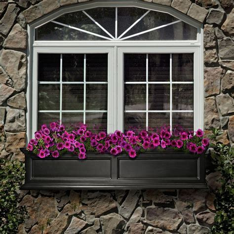 Planter Window Box by Window Boxes Pots Planters Garden Center The Home Depot