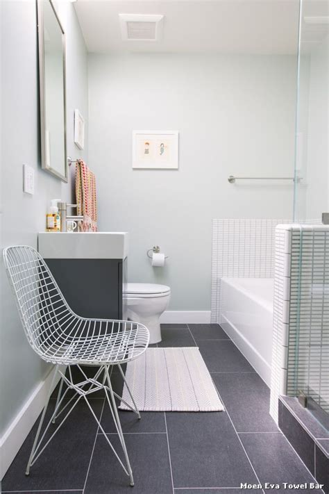 lovely bathroom color in windowless bathroom by nanette wong windowless office