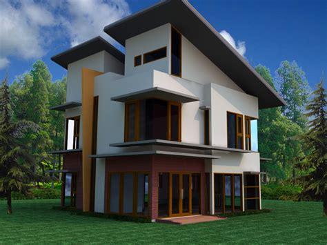 kumpulan desain rumah kecil untuk lahan sempit berkesan minimalis modern desain rumah perumahan