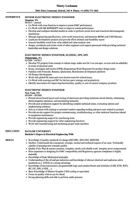design engineer jobs fresher amazing sle resume for freshers engineers electronics