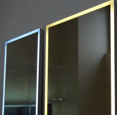 led mirror lights mirror with led lighting 171 aluminum cabinet doors