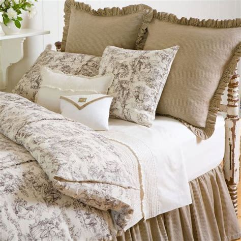 country french bedding french country toile duvet french home pinterest