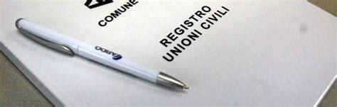 registrazione ministero dell interno registrazione unione civili ok alle nuove