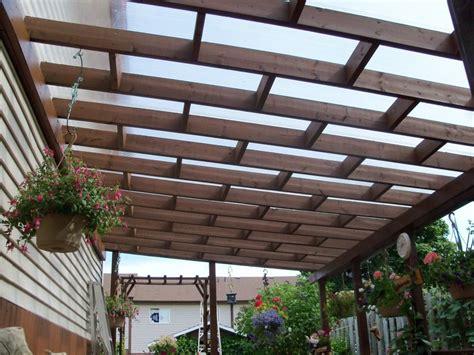 lexan polycarbonate cover yard pergolas