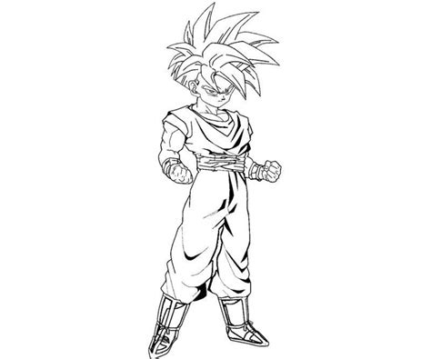 Mistick Dragon Ball Z Gohan Coloring Pages Mistick Best Z Gohan Coloring Pages