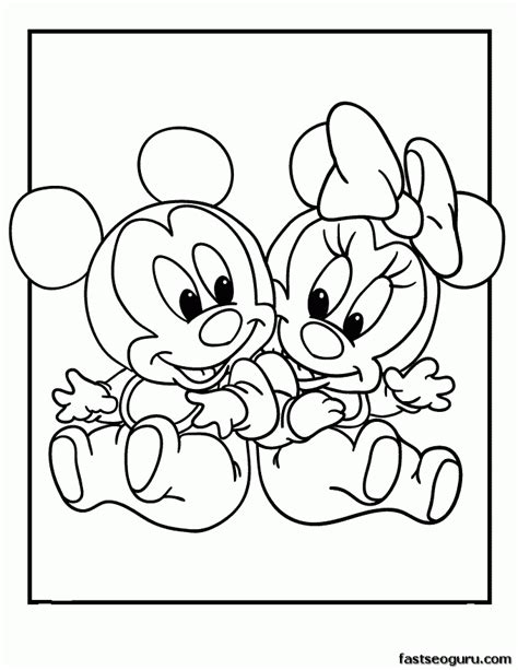 easy baby coloring pages easy baby disney coloring pages coloring home
