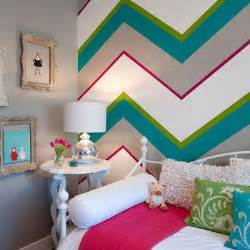 chevron bedroom decor ideas for painting stripes on walls design ideas pictures