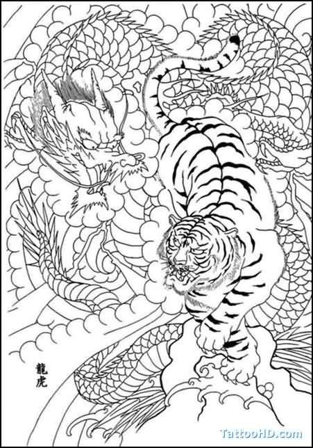 tiger tattoo outline designs 25 best ideas about japanese tiger on