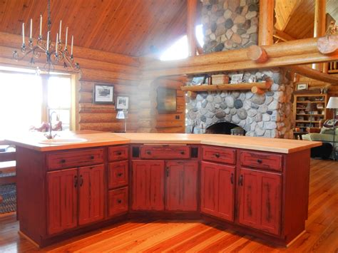tasty decorating rustic kitchen cabinets the
