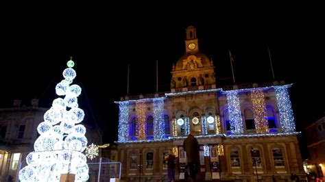 ipswich s controversial christmas tree and lights in the