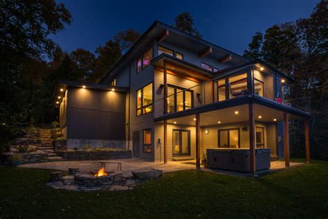 vermont home design ideas yankee barn homes designs a contemporary home tucked away