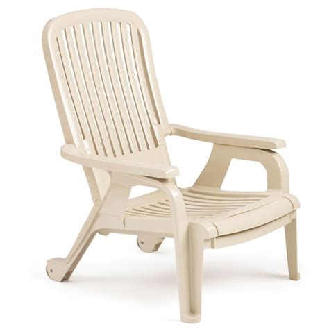 lounge chairs for deck bahia stacking deck chair sandstone 4 pack by grosfillex