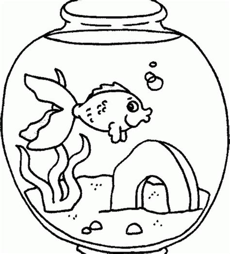 coloring page fish tank fish tank coloring pages az coloring pages