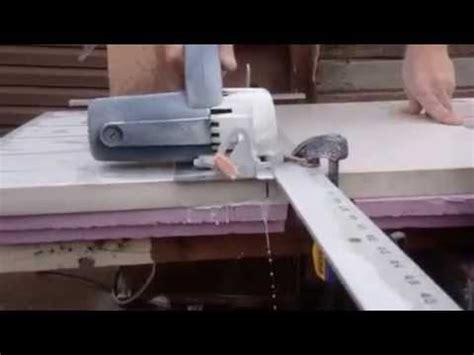 Cutting Countertop by Cutting Quartz Countertop