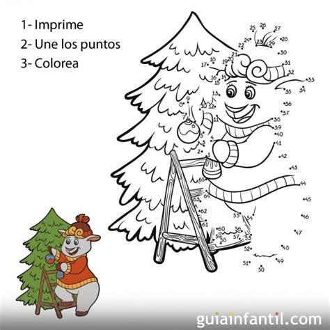 dibujos de navidad para colorear por numeros dibujos de ovejas con puntos para ni 241 os imagui