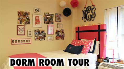 seven room tour preppy college room tour doovi