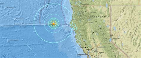 usgs earthquake map california 6 5 magnitude earthquake recorded the coast of california abc news