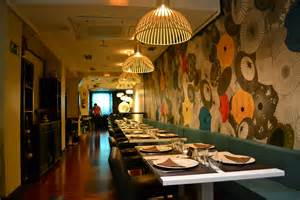 restaurant decor restaurant review maiia thai of rhyme reason