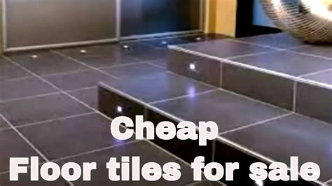cheap floor tiles  sale youtube