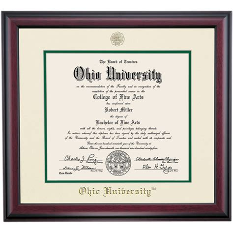 Mba Diploma Frame by Image Gallery Masters Diploma