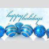 related posts happy holidays blue christmas balls happy holidays blue ...