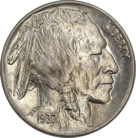 gotocoinauctions a coinzip company 1937 buffalo nickel indian head