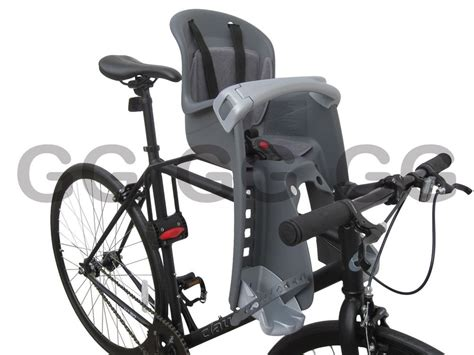 seat back mount child bike seat front facing rear mount bilby junior