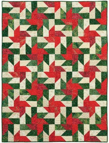 Poinsettia Quilt Block Pattern by Free Pattern Tonga Poinsettia Quilt Patterns