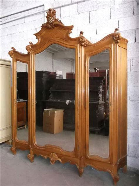monumental carved italian antique victorian bedroom set