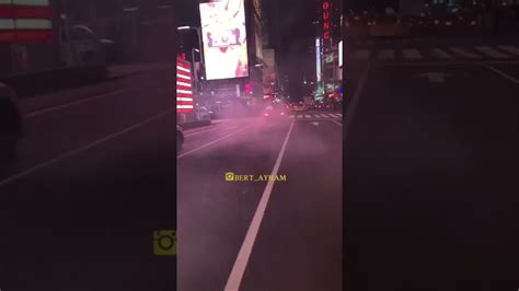 Times Square Hit And Run by Mercedes Burn Out Hit And Run Time Square Part 2