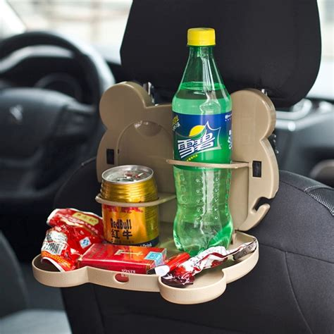 Car Seat Drink Holder And Food Tray 1 style foldable back car seat drink holder back